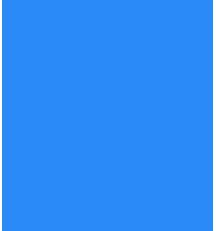 blauer klecks