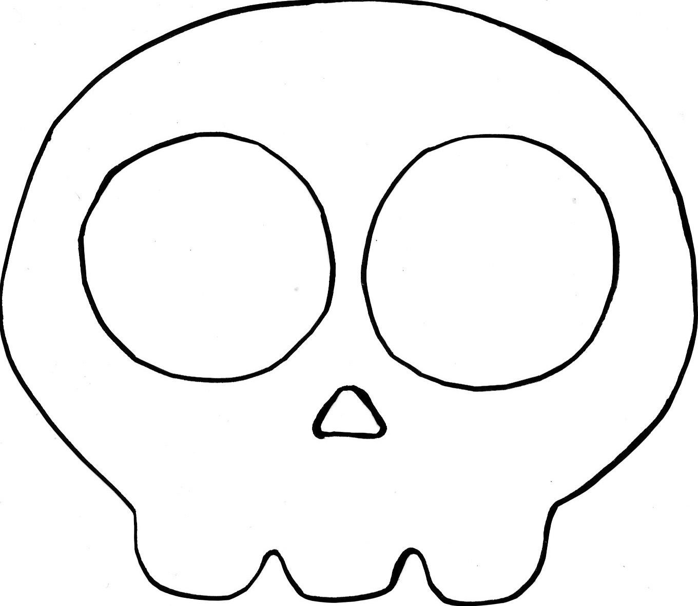 easy peasy: Totenkopf Girlande (mit Vorlage) | dekotopia