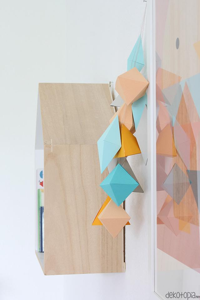 mobile selber basteln papier traumfnger mobile aus. Black Bedroom Furniture Sets. Home Design Ideas