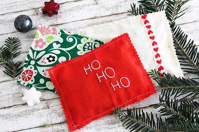 DIY Anleitung: nähe eine Geschenkverpackung