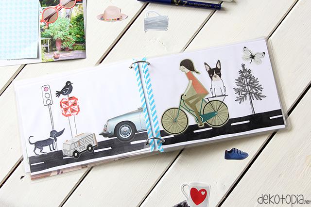 Zeitschrift Selbst Gemacht selbst gestaltetes bilderbuch aus alten zeitschriften
