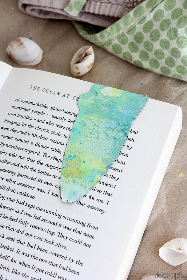 DIY Lesezeichen aus Magnetpapier