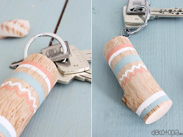 DIY Schlüsselanhänger aus Holz