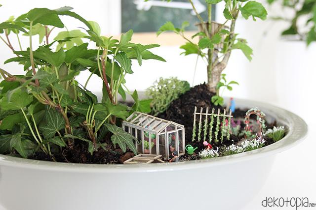 Gestalte deinen eigenen Minigarten
