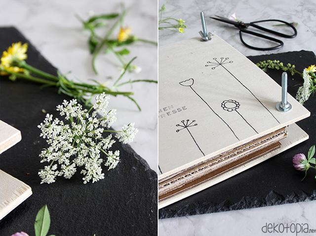 DIY_Anleitung: Blumenpresse aus Holz selber bauen