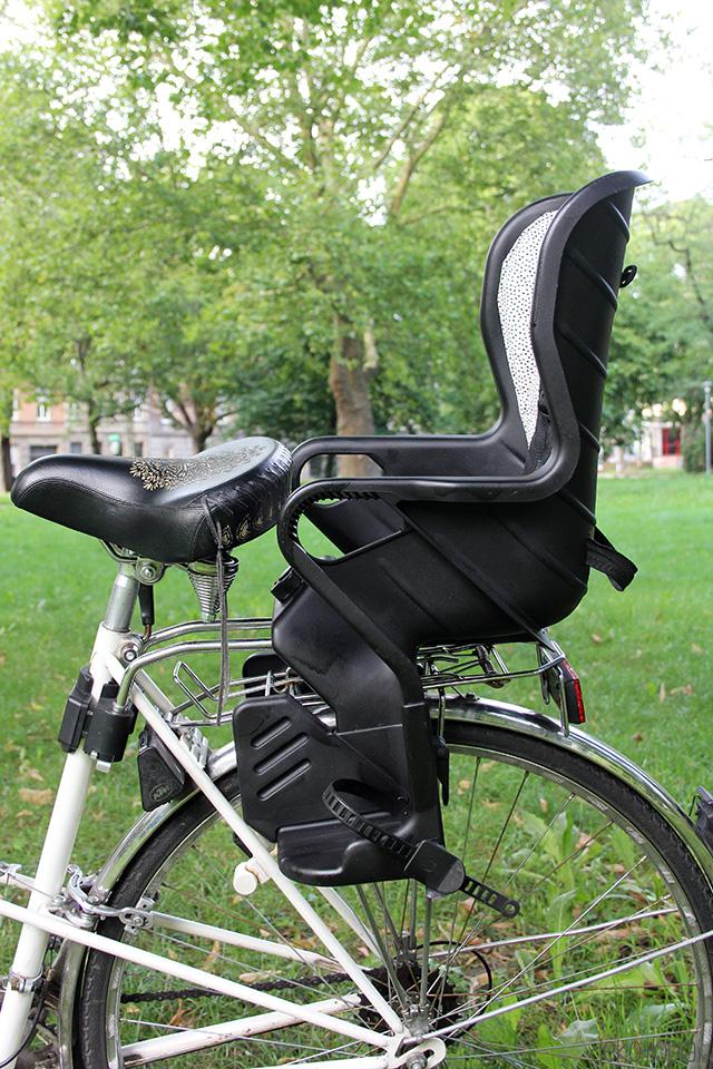 Makeover für einen alten Kinder Fahrradsitz: mit kompletter DIY Anleitung