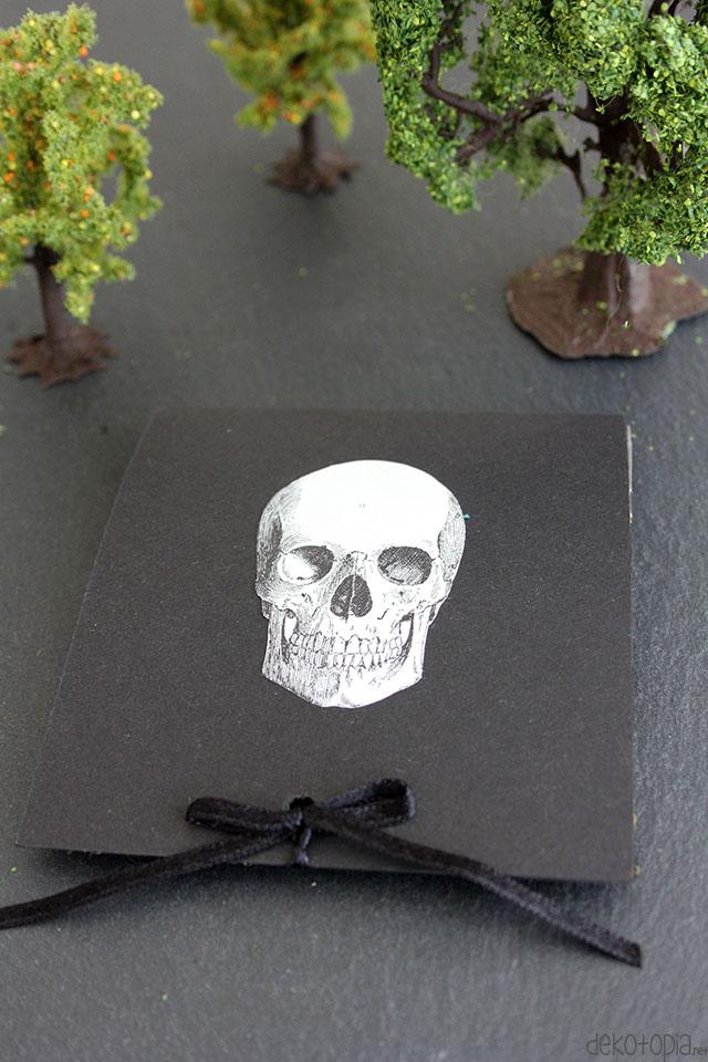Pop-Up Karte zu Halloween