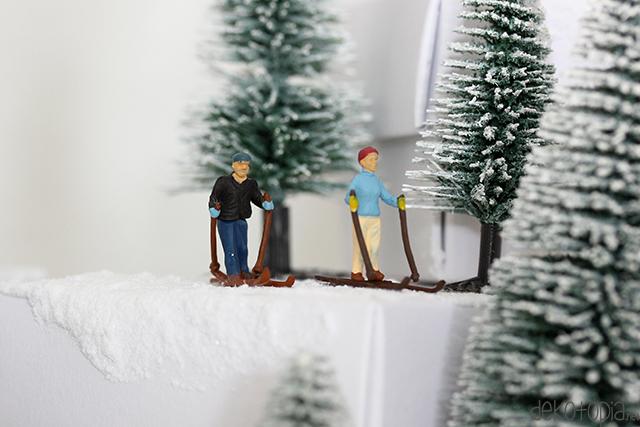 DIY Anleitung: Adventskalender mit Modellfiguren