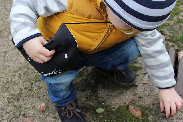 DIY-Anleitung mit Schnittmuster: Tasche in Katzenform nähen