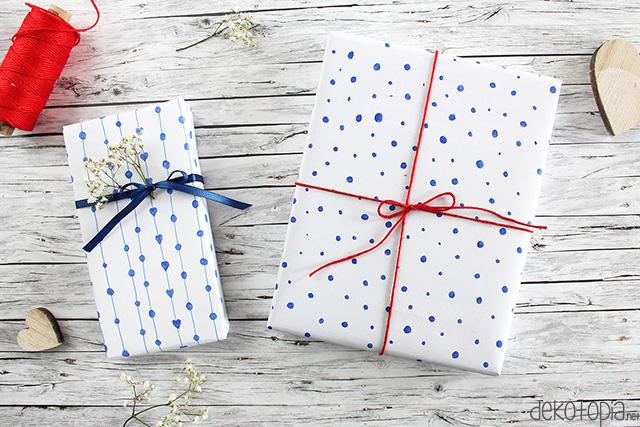 DIY Anleitung: Geschenkpapier gestalten mit dem Glam VIP