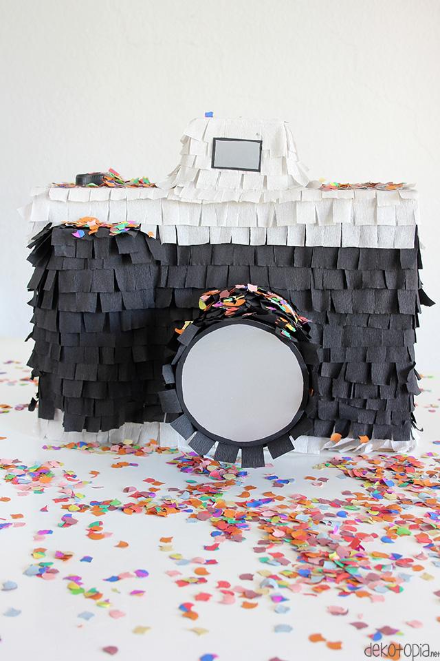 Upcycling Projekt: Kamera Pinata selber machen (DIY Anleitung)