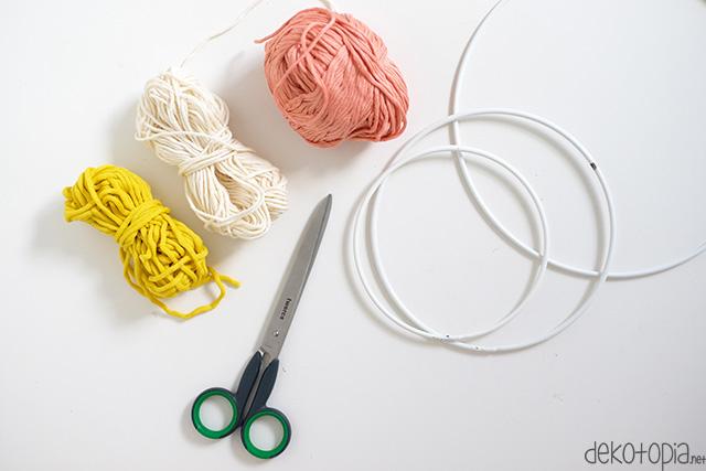 Diy Challenge Wanddeko Aus Wolle Selber Machen