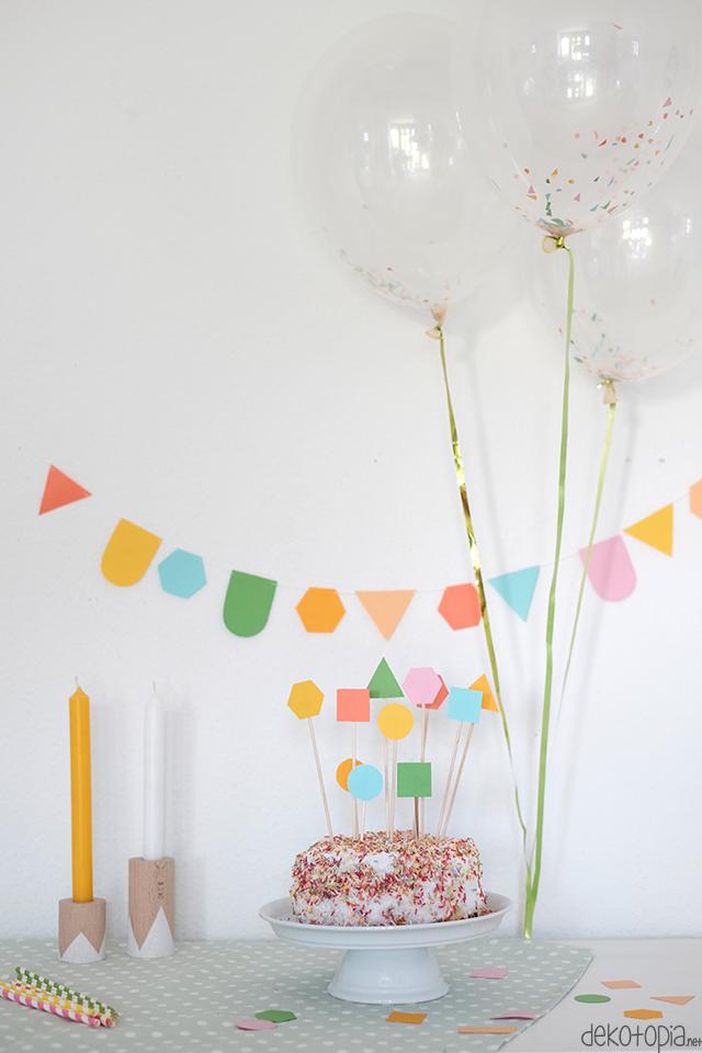 DIY Anleitung: Partydeko aus Papier