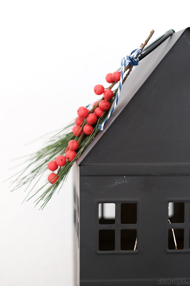 DIY: weihnachtliche Deko mit Naturmaterial