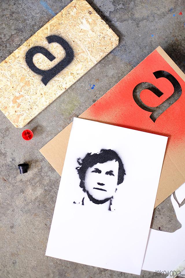 Stencil Guide Schablonen Für Sprühlack Selber Machen