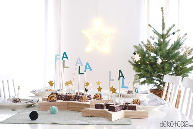 DIY Anleitung: Caketopper für Weihnachten selber machen